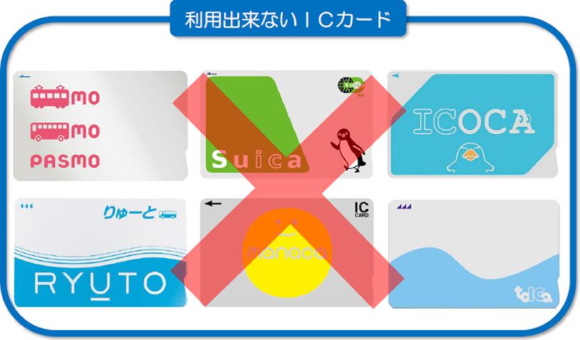 ICカード「KURURU」のご案内   路線バス   長電バス株式会社