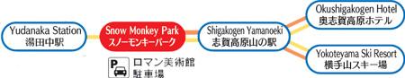 Shiga Kogen powder express ticket release point