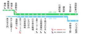 Expressway bus Nagano - Ikebukuro Line changes from April